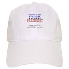 Willie For President Baseball Cap