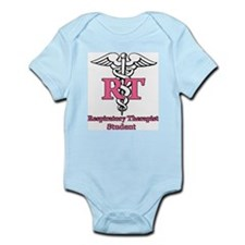 Funny Respiratory therapy Infant Bodysuit