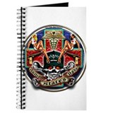 USN Navy Corpsman HM Skull Journal