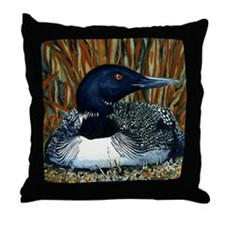 Minnesota Loon Pillow