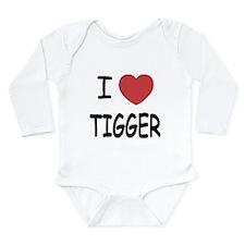 I heart tigger Long Sleeve Infant Bodysuit
