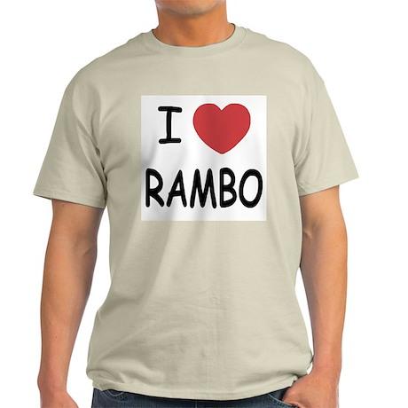 I heart rambo Light T-Shirt
