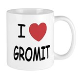 I heart gromit Small Mug