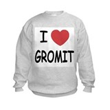 I heart gromit Sweatshirt