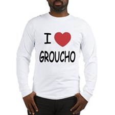 I heart groucho Long Sleeve T-Shirt