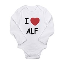 I heart alf Long Sleeve Infant Bodysuit