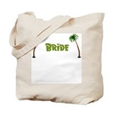 Tropical Bride Tote Bag