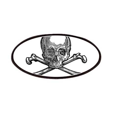 Masonic Skull Patches