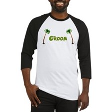 Tropical Groom Baseball Jersey
