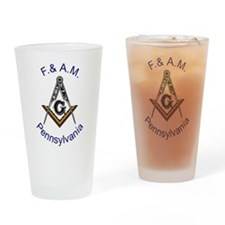 Pennsylvania Square and Compa Pint Glass