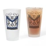 Masonic Apron Pint Glass