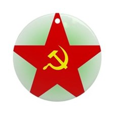 Star And Sickle Ornament (Round)