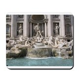 Trevi Fountain Mousepad