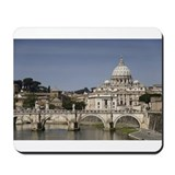 Vatican over the River Mousepad