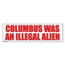 Immigration Bumper Bumper Sticker