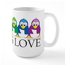 Love Is Love: Penguins Mug