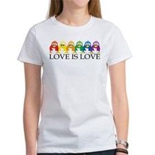 Love Is Love: Penguins Tee