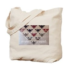 Friends are like quilts Tote Bag