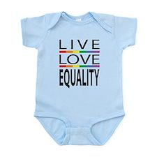 Live Love Equality Infant Bodysuit
