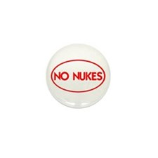 NO NUKES III-ALL PRODUCTS Mini Button (10 pack)