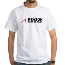 Reason/Co-Pilot Atheist Shirt