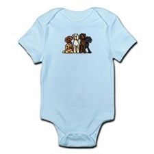 Labradoodle Express Infant Bodysuit