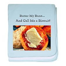 Butter My Buns & Call Me a Bi baby blanket