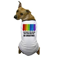 RAINBOW NECKTIES Dog T-Shirt