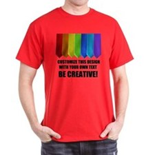 RAINBOW NECKTIES T-Shirt