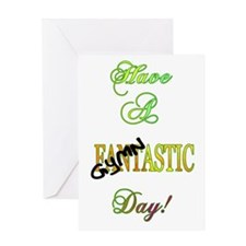 Have A Gymnastic Day Greeting Card