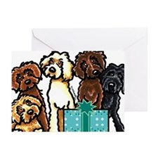 Labradoodle Birthday Greeting Cards (Pk of 20)