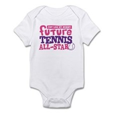 Future Tennis All Star Girl Infant Bodysuit