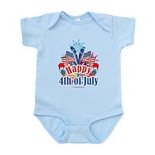 Happy 4th of July Infant Bodysuit