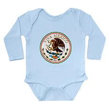 VIVA MEXICO! Long Sleeve Infant Bodysuit