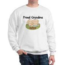Proud Grandma Twins Sweatshirt