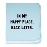 Funny Places baby blanket
