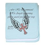 Angel Wings baby blanket