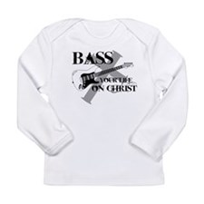Bass your life on Christ Long Sleeve Infant T-Shir