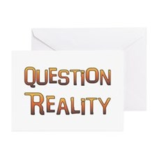 Question Reality Greeting Cards (Pk of 10)