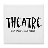 Cute Drama Tile Coaster