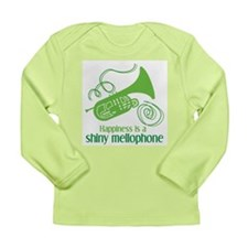 Shiny Mellophone Long Sleeve Infant T-Shirt