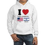 USA-ISRAEL Hooded Sweatshirt