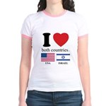 USA-ISRAEL Jr. Ringer T-Shirt
