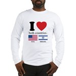 USA-ISRAEL Long Sleeve T-Shirt