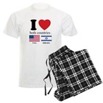 USA-ISRAEL Men's Light Pajamas