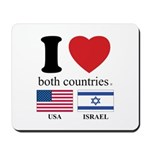 USA-ISRAEL Mousepad