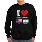 USA-ISRAEL Sweatshirt (dark)