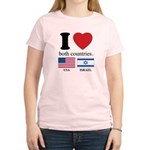 USA-ISRAEL Women's Light T-Shirt