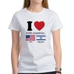 USA-ISRAEL Women's T-Shirt