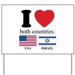 USA-ISRAEL Yard Sign